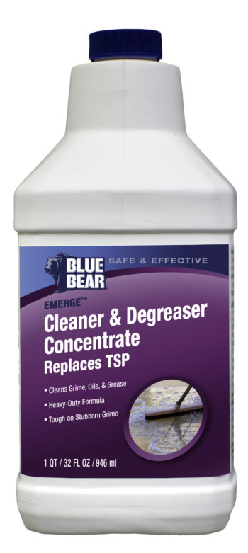 Blue Bear Emerge Cleaner And Degreaser quart