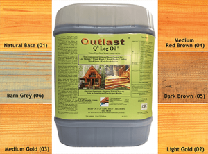 Q8 Log Oil With Colors Logfinish Com