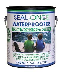 Seal-Once Total Wood Protection Waterproofing Wood Sealer