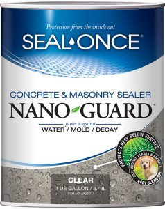 Seal Once Concrete Masonry Sealer Nano Guard
