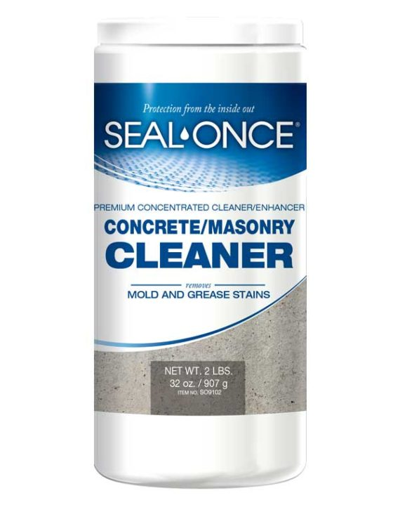 Seal-Once Concrete-Masonry Cleaner