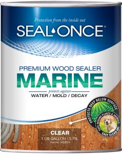 Seal Once Marine Premium Wood Sealer