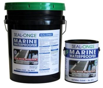 Seal Once Marine Waterproofing Wood Sealer