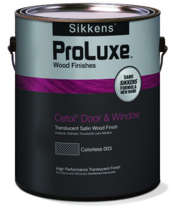 Sikkens Proluxe Cetol Door & Window – 1 Gallon Pail