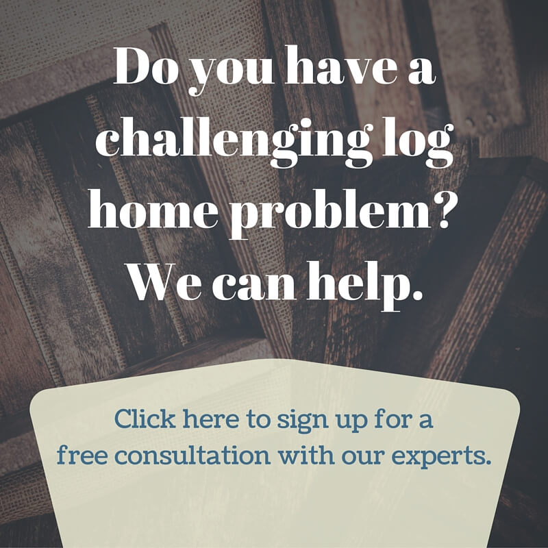 Sign up for a free consultation with our log home experts!