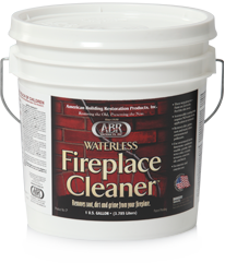 waterless fireplace cleaner