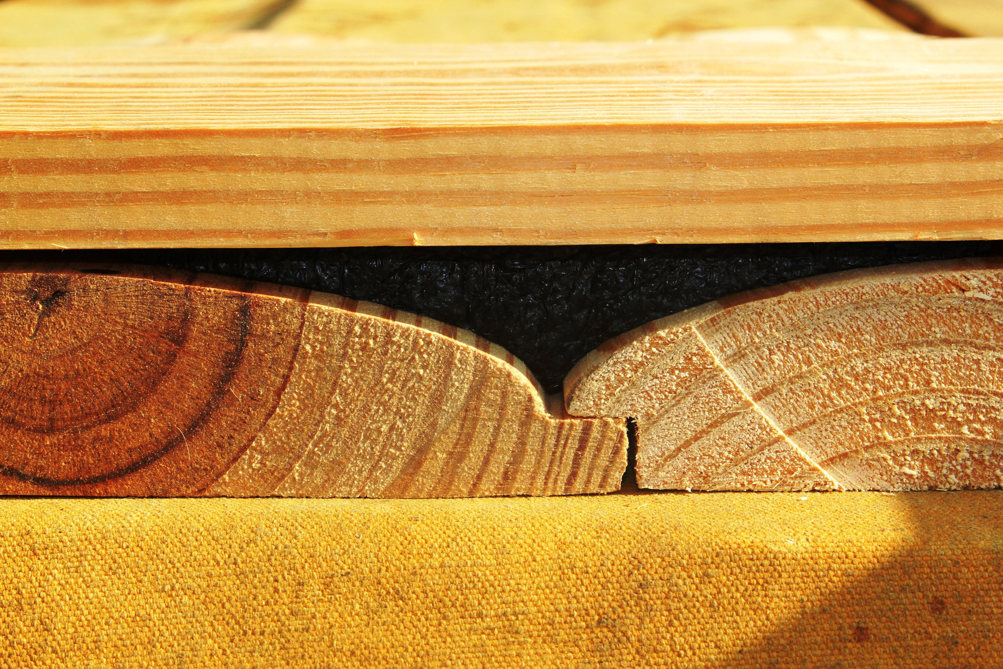 log gap cap for log siding