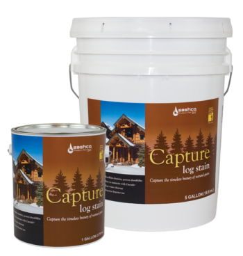 Capture Log Stain buckets