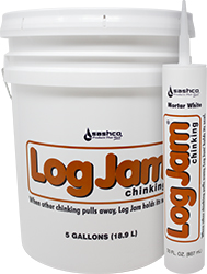 Log Jam Synthetic Chinking