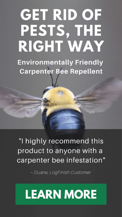 nbs-30 is the enviromentally friendly carpenter bee repellent