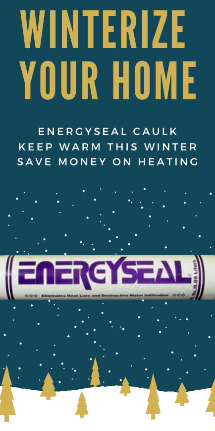 Energy Seal your home this winter to keep it weather-tight